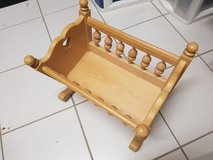 hand crafted doll cradle in Stuttgart, GE