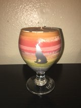 coyote candle pink in Fort Irwin, California