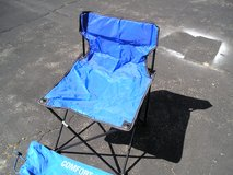 PORTABLE CAMP / SPORTS CHAIRS - PAIR in Oswego, Illinois