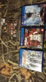 1 ps3 game and 3 ps4 games in Leesville, Louisiana