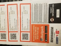 3 Giants tickets in Travis AFB, California