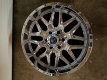 "20"" American racing chrome wheels in Lockport, Illinois"