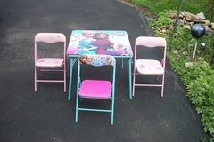 KIDS FOLDING TABLE AND CHAIRS in Bartlett, Illinois