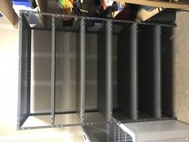 Two heavy duty storage shelves. in Camp Pendleton, California