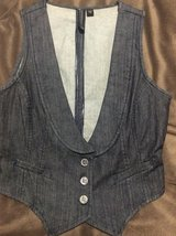 Nine West denim vest in Okinawa, Japan