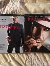 Justified DVD Season 1 & 2 in Cleveland, Texas