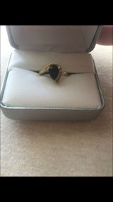 10k gold onyx and diamond ring in Naperville, Illinois