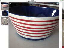 Brand New Red, White & Blue Bowl in Naperville, Illinois