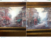 Two Paintings in Tinley Park, Illinois