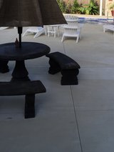 Cement table & benches in Camp Lejeune, North Carolina