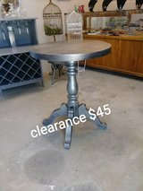 Antique solid oak pedestal table in Cherry Point, North Carolina