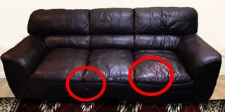 COUCH of Leather in Okinawa, Japan