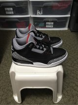 Nike Air Jordan Retro 3 Black Cement in Okinawa, Japan