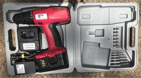 Ultra Steel 18 volt Reversible Drill Driver Kit in Houston, Texas