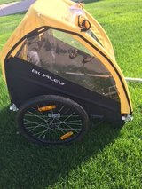 Burley Bee Bike Trailer- like new - $150 (St. Charles) in Naperville, Illinois