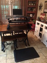 Standing work station with the standing mat in Leesville, Louisiana