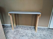 Metal top table in Vacaville, California
