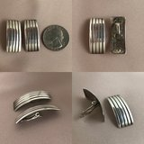 Sterling silver clip earrings in Bartlett, Illinois