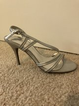 Woman's Silver Heel in Fort Lewis, Washington