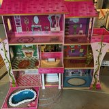 AWESOME Barbie House/Castle with furniture and extras! in Yorkville, Illinois