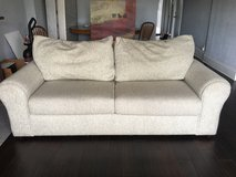 SOFT GREY SOFA/COUCH in Oswego, Illinois