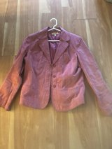Suede mauve/pink jacket in Naperville, Illinois