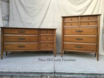 Mcm Mid Century Dresser Chest Set in Kingwood, Texas