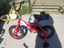 Lightning McQueen bike in Alamogordo, New Mexico