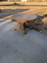 Table in Fort Irwin, California