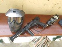 Paintball marker and mask in Fort Knox, Kentucky