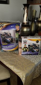 Brand new WWE Twin Comforter and sheet set in Lockport, Illinois