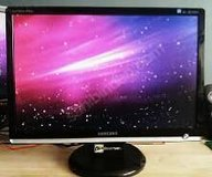 """SAMSUNG 22"""" WIDESCREEN MONITOR (read below) in Yorkville, Illinois"""