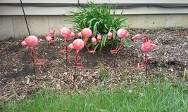 flamingo garden stakes in Joliet, Illinois
