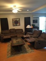 Living room set (couch and loveseat sold) in Okinawa, Japan