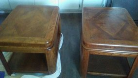 Solid  wood end tables in Dothan, Alabama