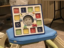Picture frame for first year in Batavia, Illinois
