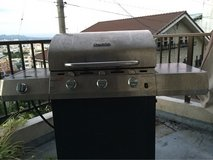 Stainless Steel BBQ grill in Okinawa, Japan