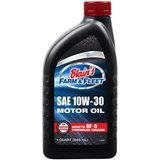 Case of Blain's Farm & Fleet 10W-30 motor oil in Morris, Illinois