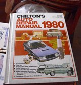 Chilton's Auto Repair Book 1980 in Sandwich, Illinois