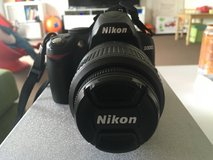Nikon D3000 with DX 18-55mm lens in Ramstein, Germany