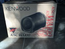 """Kenwood 10"""" Amplified Auto Subwoofer in Ramstein, Germany"""