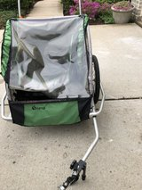 Instep Double Bike Trailer in Bolingbrook, Illinois