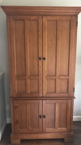Large Wood Entertainment Center Armoire in Houston, Texas