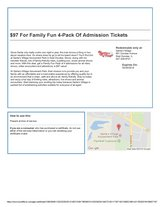Santa's Village - 4 Pack Admission - Expires May 25, 2018 in Naperville, Illinois