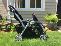 Chicco Cortina Together Double Stroller in Naperville, Illinois