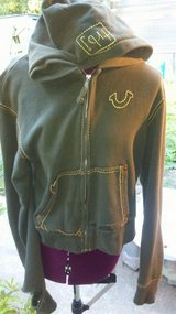 Army Green True Religion Hoodie in Conroe, Texas