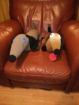 Dachshunds stuffed stuffies in Fort Leonard Wood, Missouri