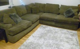 Large 3 piece comfortable sectional 9ft x 9ft in Fort Drum, New York