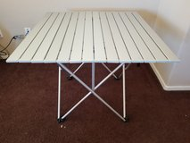 MacCabee Folding Aluminum Camping Outdoor Table - in Nellis AFB, Nevada