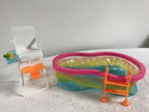 Barbie swimming pool set in Naperville, Illinois